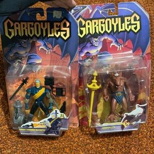 Vintage 1995 Gargoyles Toys